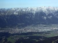 08_18421 09.09.2008 Luftbild Alpendurchquerung Innsbruck