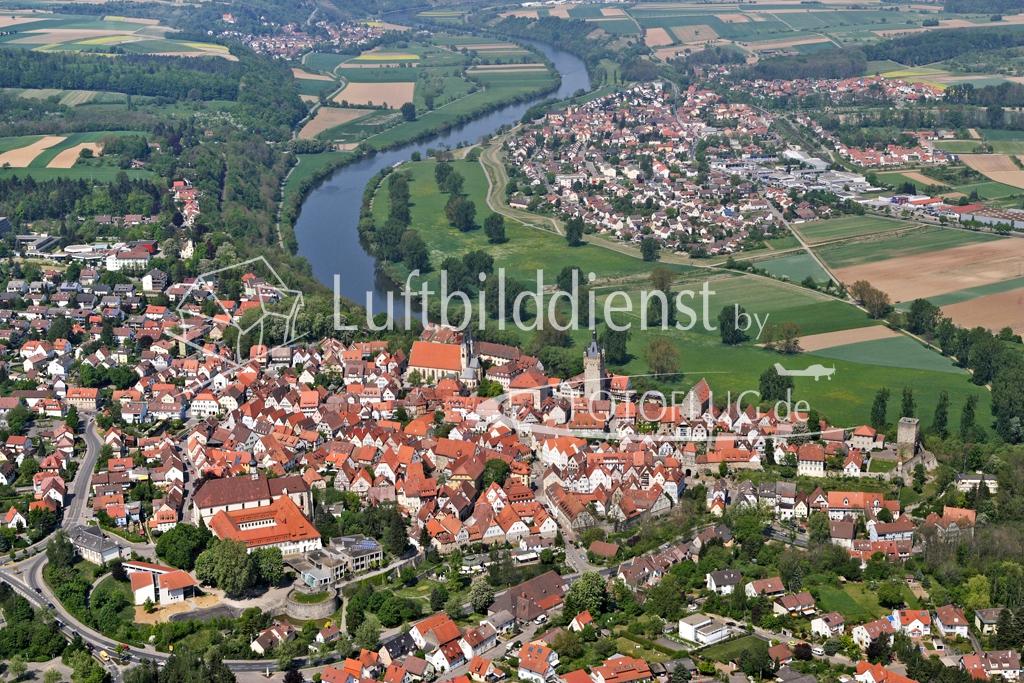 07_5672 28.04.2007 Luftbild Bad Wimpfen