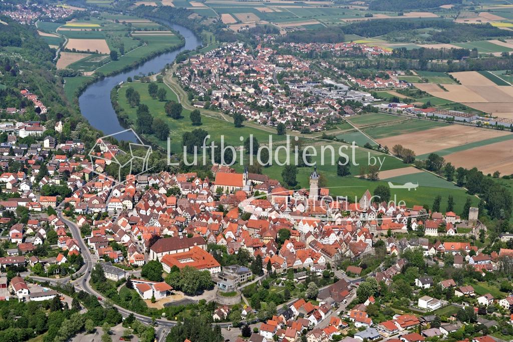 07_5674 28.04.2007 Luftbild Bad Wimpfen