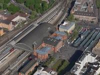 15k2_08473 15.05.2015 Luftbild Bremen Hauptbahnhof