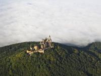 07_16779 16.09.2007 Luftbild Burg Hohenzollern - Hechingen