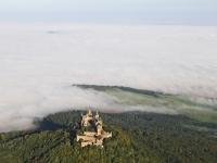 07_16785 16.09.2007 Luftbild Burg Hohenzollern - Hechingen