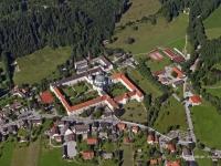 05_5122 30.08.2005 Luftbild Kloster Ettal