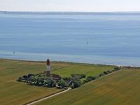 05_3562 12.07.2005 Luftbild Leuchtturm Fehmarn