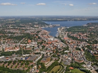 06_9700 15.07.2006 Luftbild Flensburg