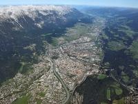 08_18426 09.09.2008 Luftbild Innsbruck