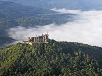 07_16776 16.09.2007 Luftbild Burg Hohenzollern - Hechingen