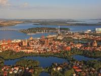 13_40687A 28.08.2013 Luftbild Stralsund