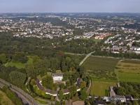 05_5640 03.09.2005 Luftbild Leverkusen Schloss Morsbroich