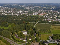 05_5641 03.09.2005 Luftbild Leverkusen Schloss Morsbroich