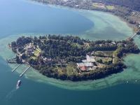 12_36456 08.09.2012 Luftbild Insel Mainau