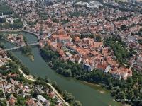 06_10559 22.07.2006 Luftbild Neuburg an der Donau