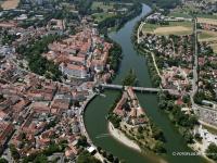 06_10564 22.07.2006 Luftbild Neuburg an der Donau