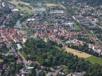 I08_12975 01.07.2008 Luftbild Rotenburg an der Fulda