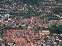 I08_12987 01.07.2008 Luftbild Rotenburg an der Fulda