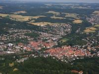 I08_12995 01.07.2008 Luftbild Rotenburg an der Fulda