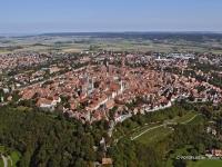 06_15012 21.09.2005 Luftbild Rothenburg ob der Tauber
