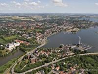 06_9695 15.07.2006 Luftbild Schleswig