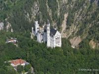 06_7941 24.06.2006 Luftbild Schloss Neuschwanstein