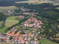 08_12841 01.07.2008 Luftbild Trendelburg