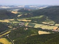 08_12904 01.07.2008 Luftbild Werleshausen
