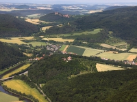 08_12905 01.07.2008 Luftbild Werleshausen