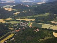 08_12907 01.07.2008 Luftbild Werleshausen