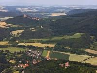 08_12908 01.07.2008 Luftbild Werleshausen