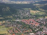 08_12807 01.07.2008 Luftbild Zierenberg