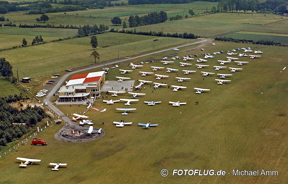 Luftaufnahme Flugplatz Stadtlohn (1967)