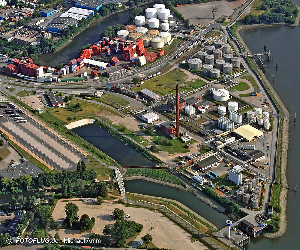 13_40099 Industrie im Hamburger Hafengebiet