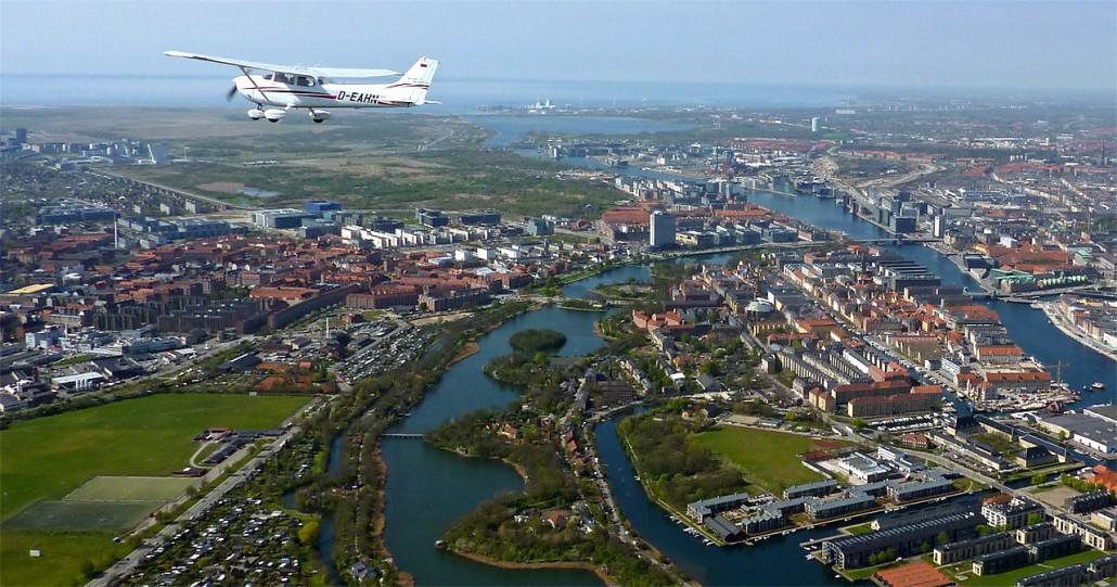Erstellung von Kunden-Luftbildern auch im Ausland
