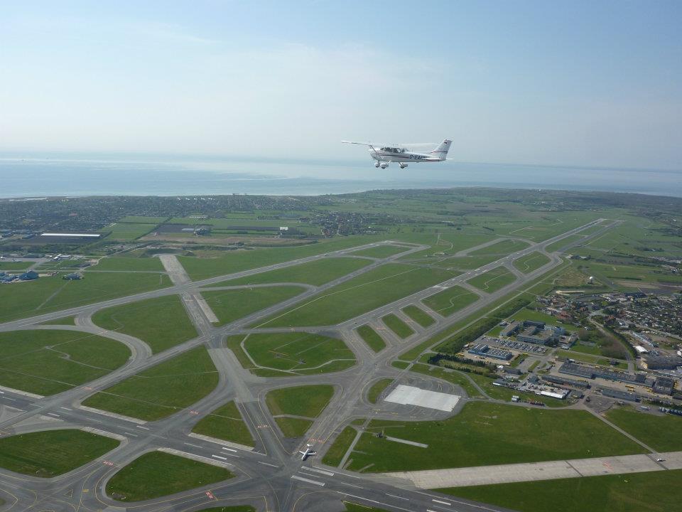 Luftbild Kopenhagen Airport