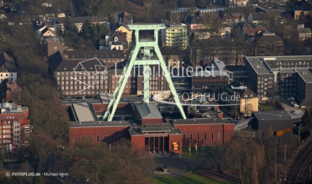 Luftbild Bergbaumuseum