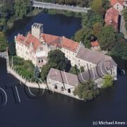 Schrägluftbild Wasserschloss Flechtingen