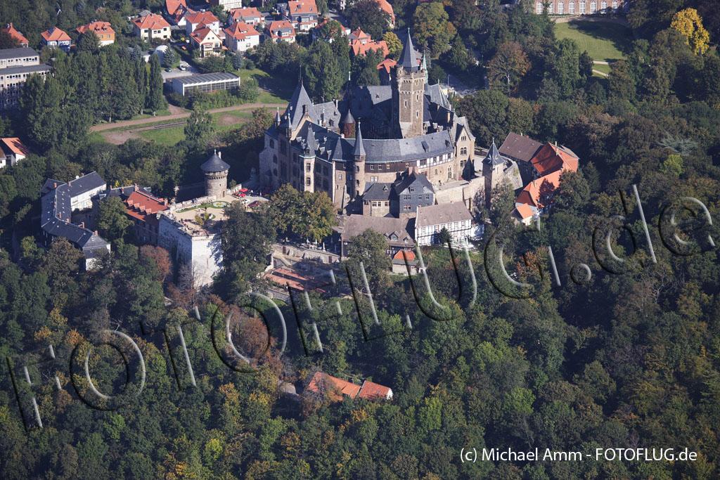 Schrägbild Schloss Wernigerode 2007