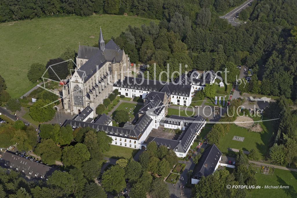 Altenberger Dom im Luftbild