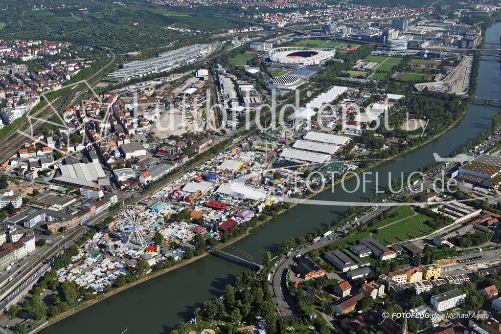 Luftbild Cannstatter Volksfest