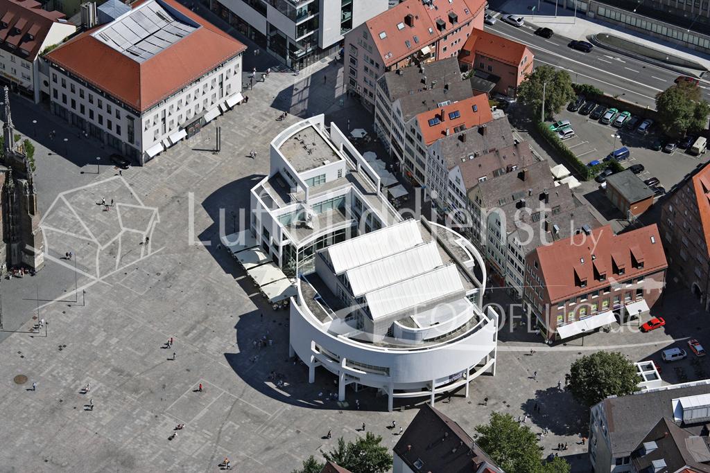 Luftbilder Ulm, Stadthaus 2007