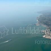 Hafen von Dover im Luftbild