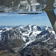Luftbild Alpen mit Schnee 08_18311
