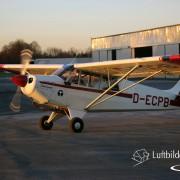 Start zum Luftbild-Flug