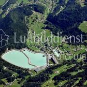 Luftbild Wasserkraftwerk
