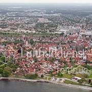 Luftbild Schweden Visby Gotland 2008