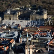 Luftbild Residenz Würzburg