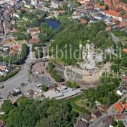 Luftbilder Bad Segeberg Karl-May-Festspiele