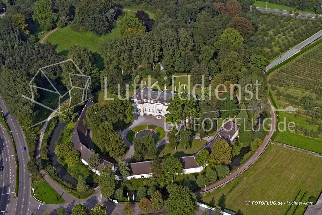 Luftbilder Schloss Morsbroich, Leverkusen 2005
