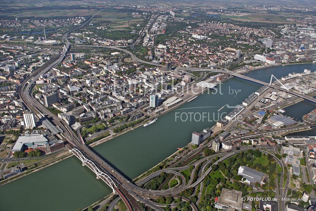 06_13410 09.09.2006 Luftbild Ludwigshafen am Rhein