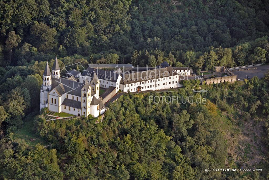 06_14150 10.09.2006 Luftbild Obernhof Kloster Arnstein an der Lahn