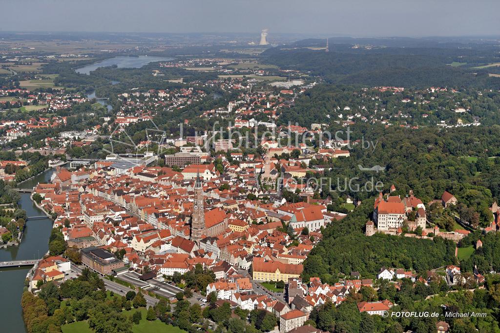 06_13288 07.09.2006 Luftbild Landshut
